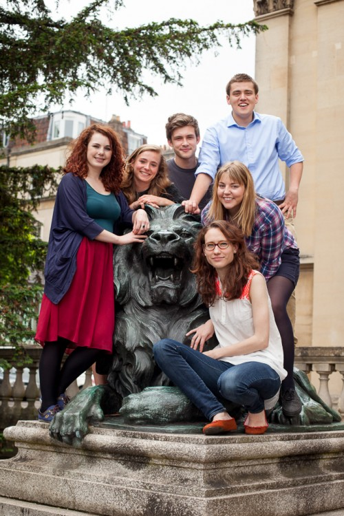 Group photo of the 2013/14 UBU Sabbatical Officers