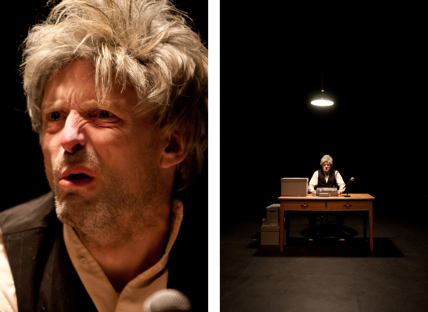 krapps last tape by samuel beckett Krapp's last tape is a one-act play, in english, by samuel beckett with a cast of one man, it was written for northern irish actor patrick magee and first titled.